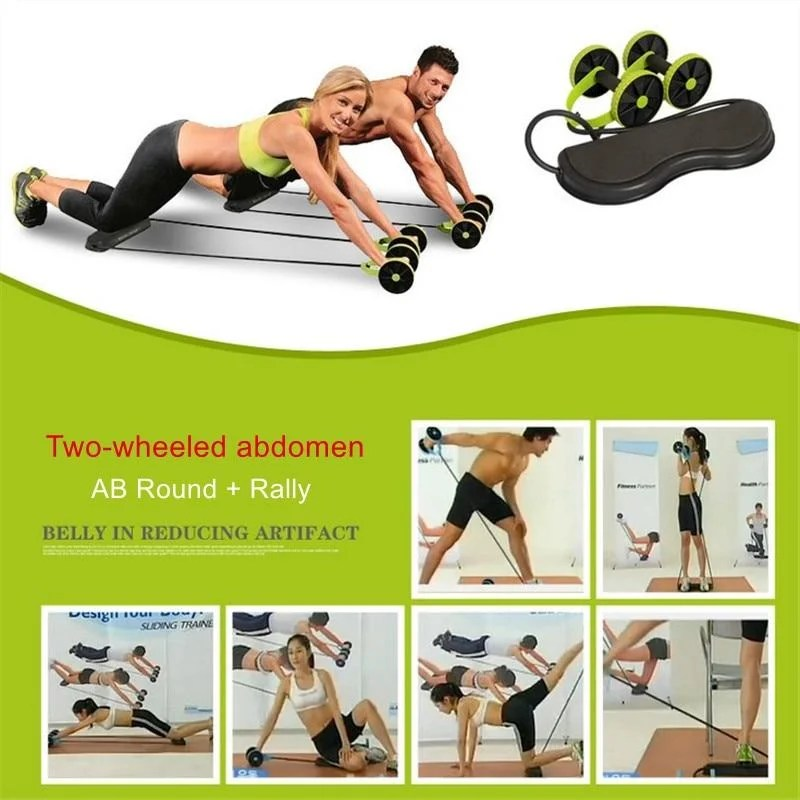 Power Roll Trainer - Rolo Duplo para Exercícios