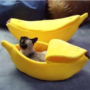 Cama Para Gato - Esconderijo Banana