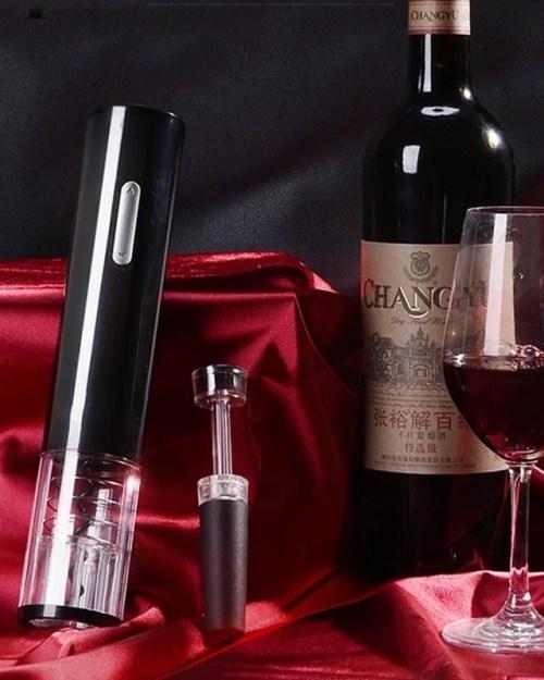 Abridor De Vinho Elétrico Elegance