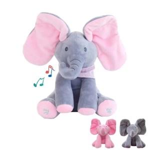 Elefante de Pelúcia Peek Boo