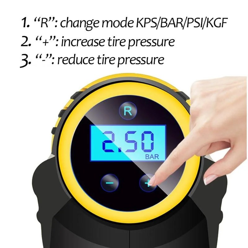 Compressor de Ar Portátil IPressure