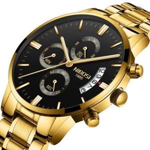 Relógio Nibosi Blindado em Inox
