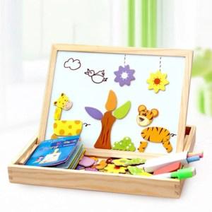 Drawing & Puzzle - Quadro Magnético Educacional