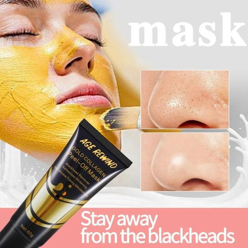Máscara De Ouro Anti Envelhecimento