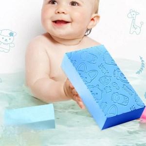 Esponja de Banho para Remoção de Pele Morta