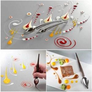 Comida Criativa – Colher Lápis Decorativa
