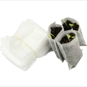 Sementeira biodegradável um berçário de plantas 1 pacote = 100 peças tamanho 8x10cm