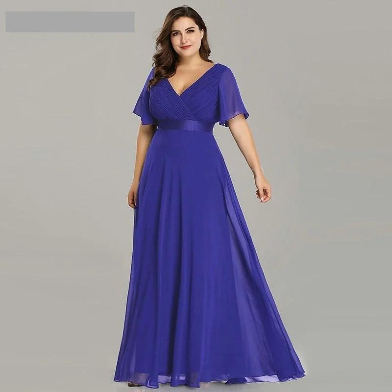 Vestido Longo Poá - Roxo - Tamanho 58