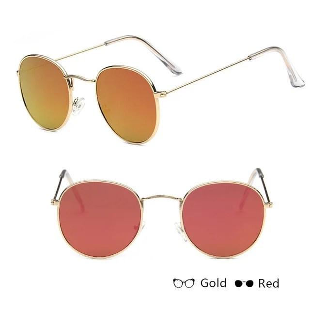 Óculos de Sol Feminino Clássico Aviador