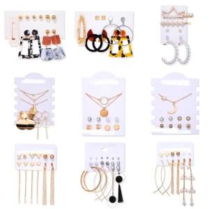 Conjuntos de Brincos Femininos Cleópatra