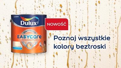 Nowe kolory Dulux Easycare