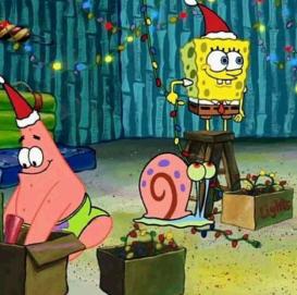 SpongeBob Patrick Holiday