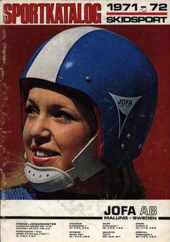 JOFA Oskar Alpint Sportkatalog 1971-72