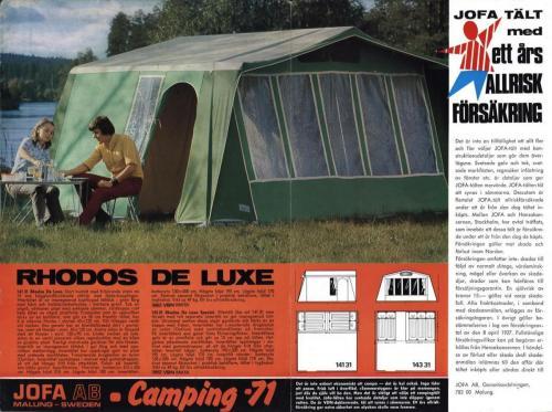 JOFA Oskar Camping Camping-71 0652