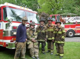 Crew shot after a mult-unit residential reponse to Montgomery County.