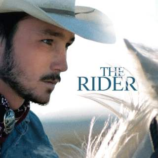 "Poster for the movie ""The Rider"""