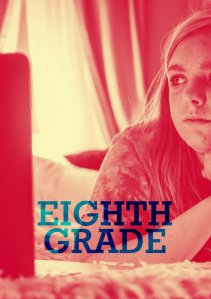 "Poster for the movie ""Eighth Grade"""