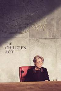 "Poster for the movie ""The Children Act"""