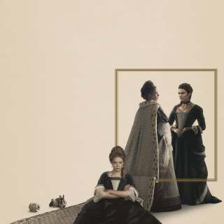 "Poster for the movie ""The Favourite"""