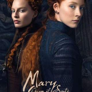 "Poster for the movie ""Mary Queen of Scots"""