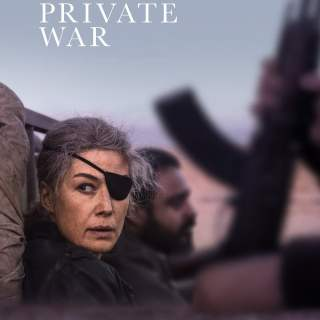 "Poster for the movie ""A Private War"""