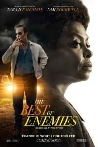 """Poster for the movie """"The Best of Enemies"""""""