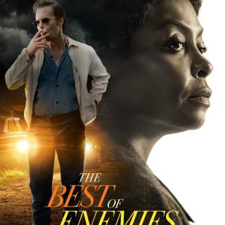 "Poster for the movie ""The Best of Enemies"""