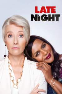 """Poster for the movie """"Late Night"""""""