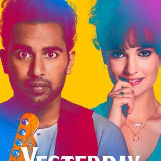 "Poster for the movie ""Yesterday"""