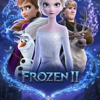 "Poster for the movie ""Frozen II"""