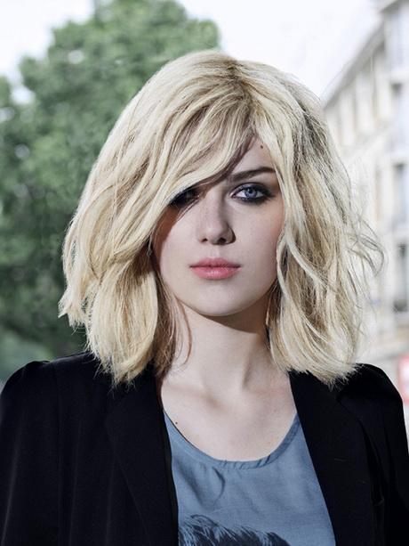 Damen Frisuren Halblang