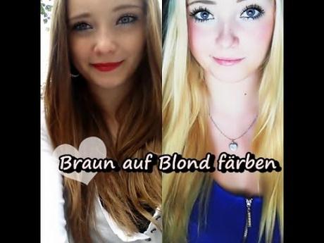 Haare Frben Blond Auf Braun