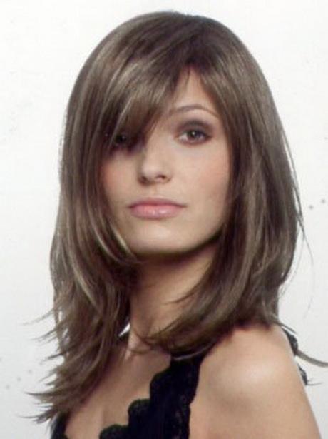Moderne Frisuren Halblang