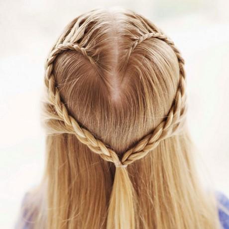 Herz Flechten Haare