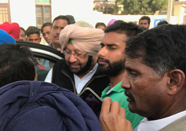 Fluttering flags, surging humanity – Lambi has given its verdict, says Capt Amarinder