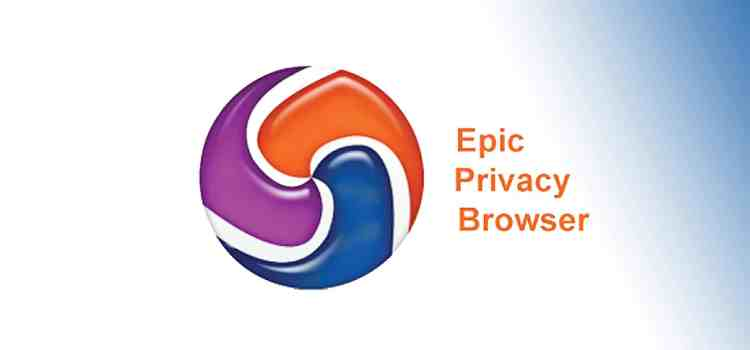 Epic Privacy Browser – the name says it all