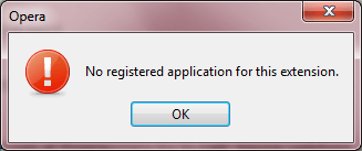 Error message when viewing Programmers site in Opera 11.10