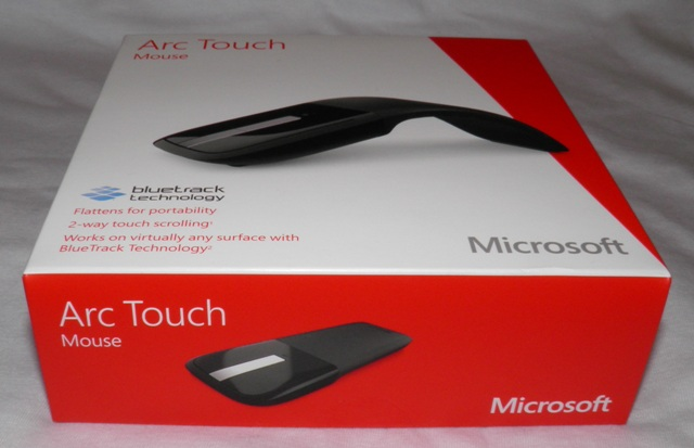 Box with Microsoft Arc Touch Mouse