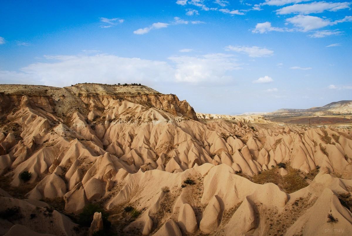 Amazing landscapes of Cappadocia