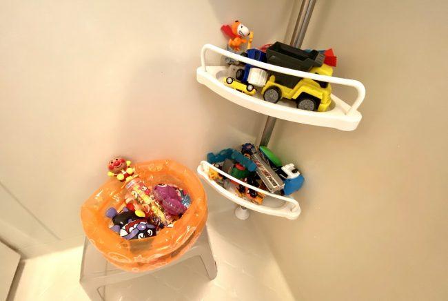 ワンオペ二人目育児の必需品と便利な育児グッズ お風呂の必需品 セリア・ダイソー・3coins・ハッピーセットのオモチャ