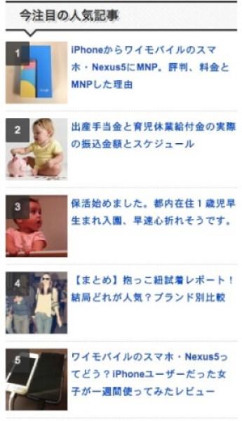 Wordpress popular posts 今見てる人気記事2