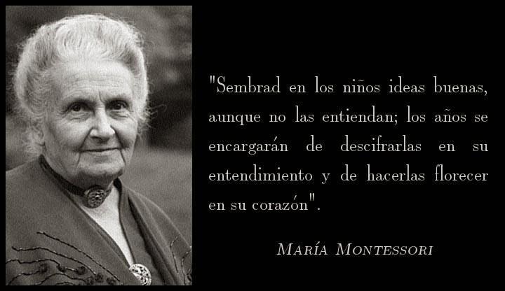 Resultado de imagen de María Montessori