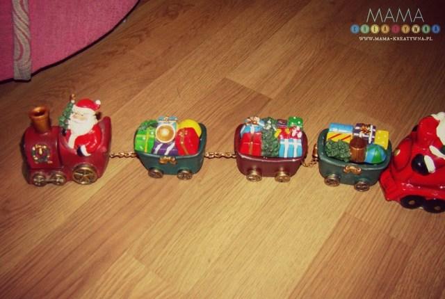 świąteczny pociąg