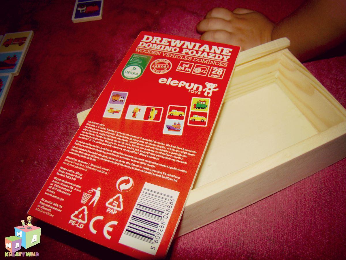 Drewniane Domino Elefun Toys Rodzina Zblogowani