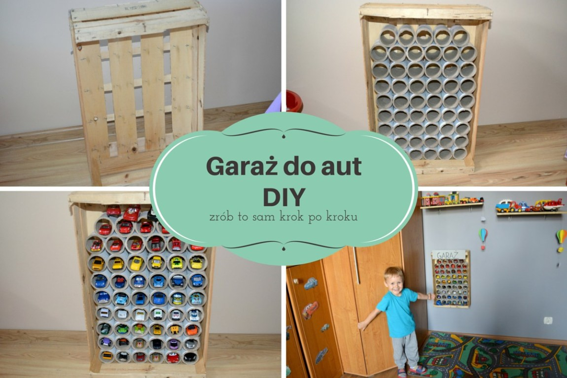 Garaż do aut DIY