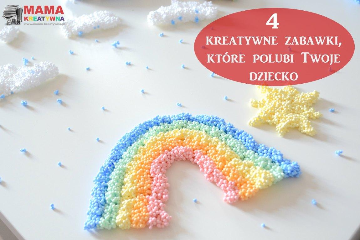 4 kreatywne zabawki, które polubi Twoje dziecko