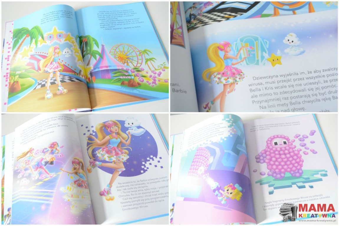 książka o Barbie
