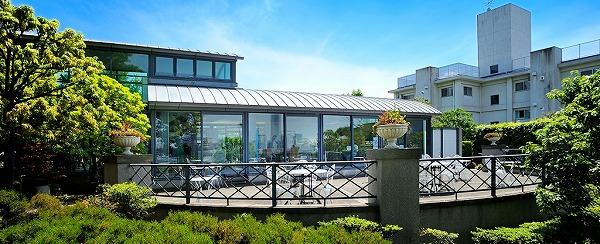 横浜山手ブラフガーデンカフェ