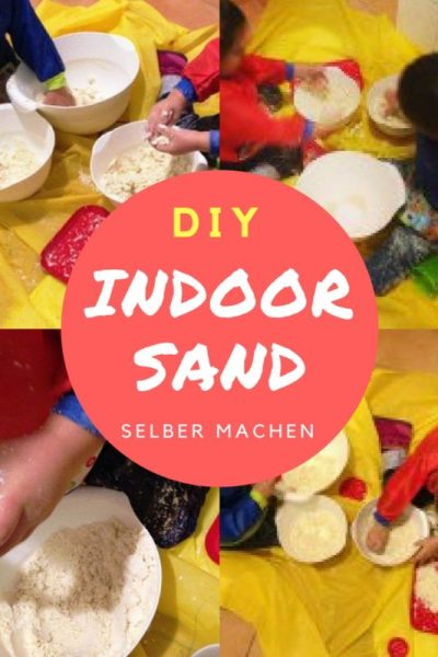 DIY Indoor Sand selber machen