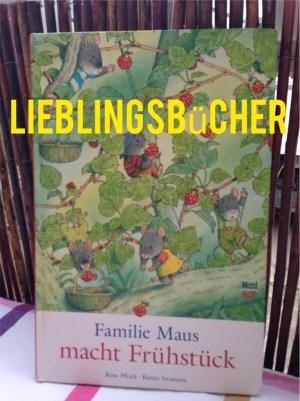 Lieblingsbücher Familie Maus macht Frühstück, Rose Pflock, Kazuo Iwamura, Nord Süd Verlag